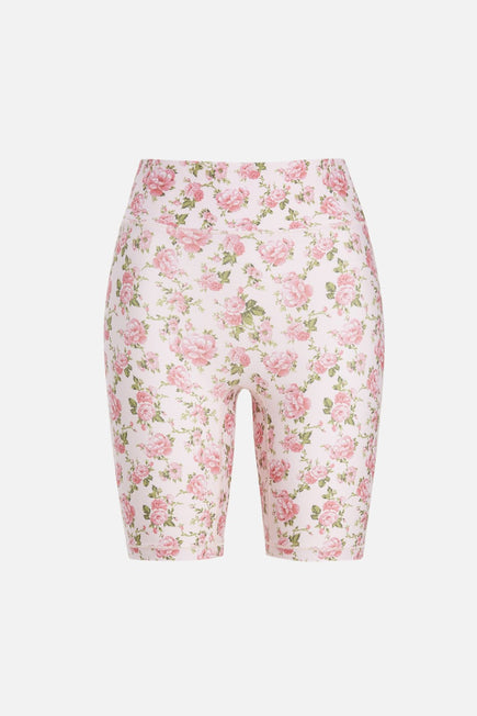 Biker Short by BANDIER x LoveShackFancy in Peony Garden 5