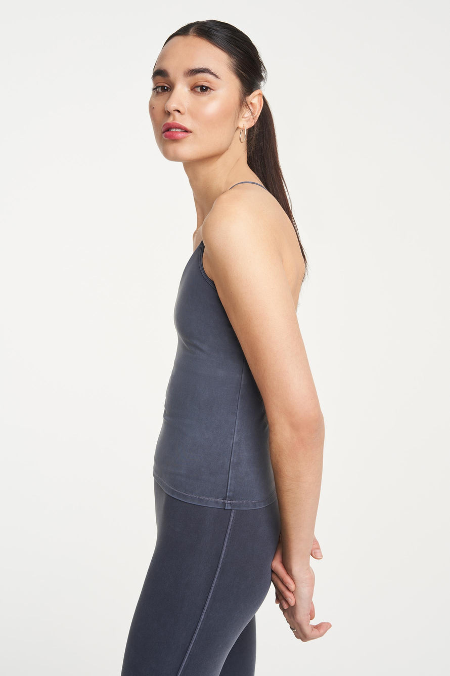 Bliss Tank by We Over Me in Washed Black 6