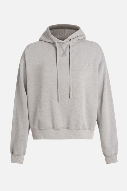 The Ecosoft Classic Hoodie by WSLY in Grey Heather 8
