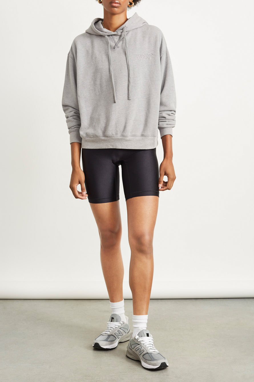 The Ecosoft Classic Hoodie by WSLY in Grey Heather 5
