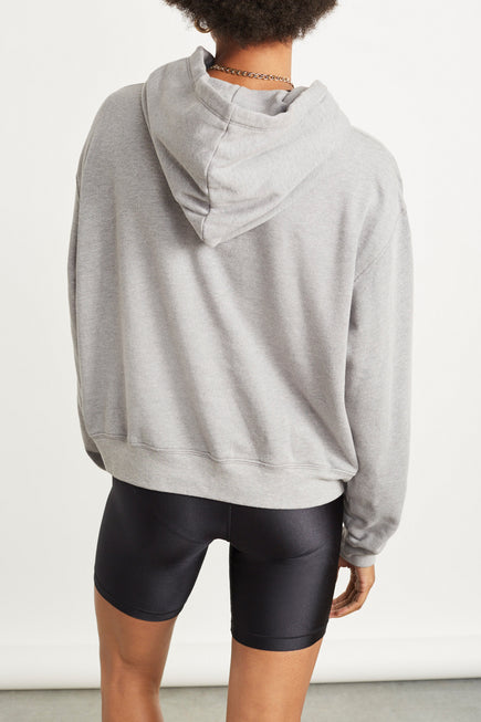 The Ecosoft Classic Hoodie by WSLY in Grey Heather 7