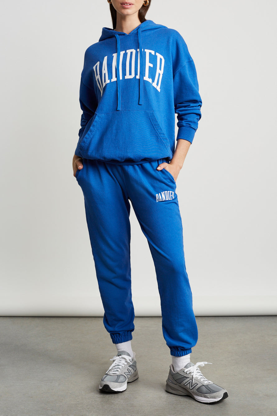 Classic Sweatpants by BANDIER in Blue 2