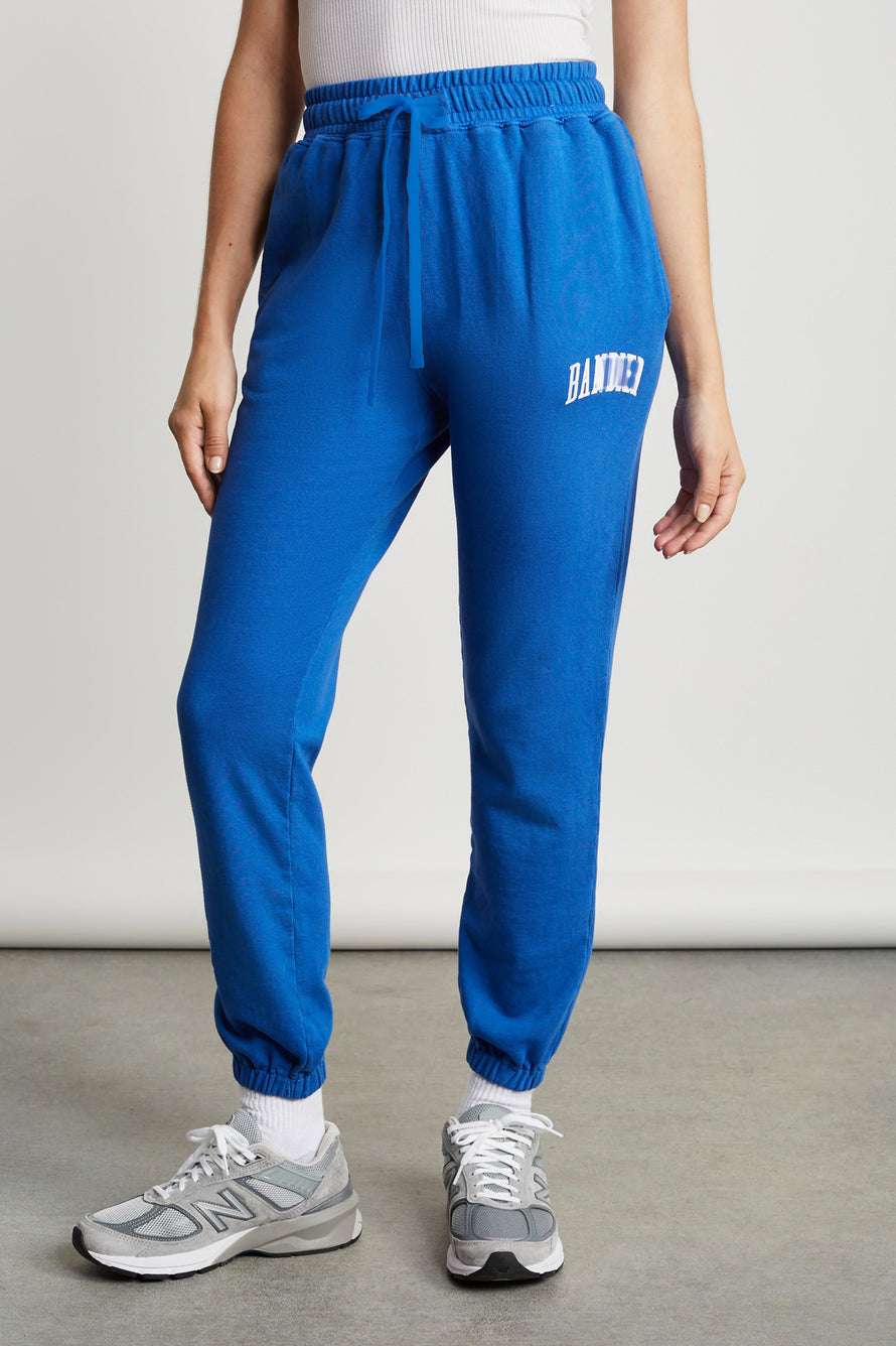 Classic Sweatpants by BANDIER in Blue 1