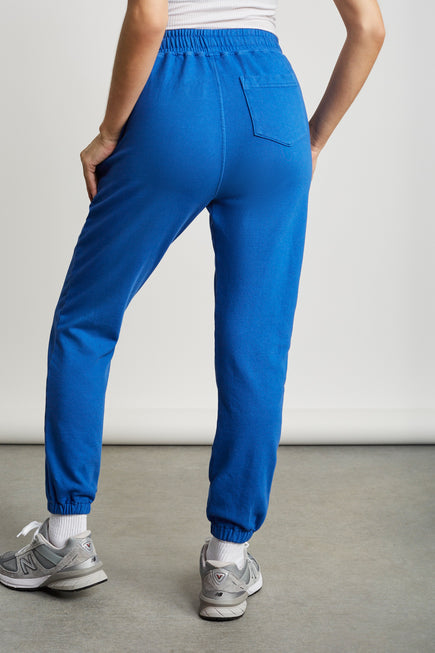 Classic Sweatpants by BANDIER in Blue 3