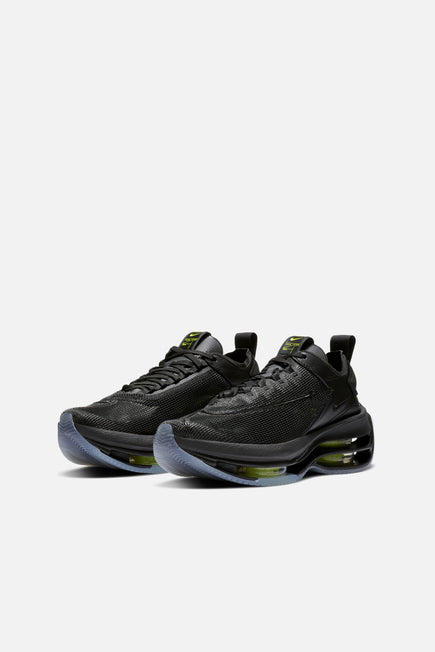 Zoom Double Stacked by Nike in Black/volt-black 3