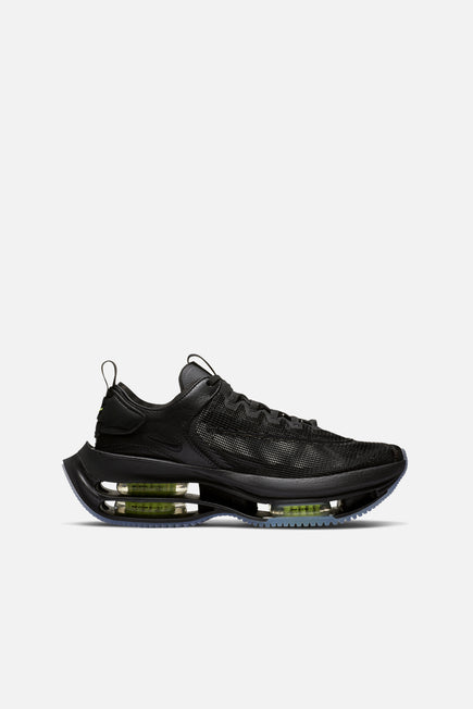 Zoom Double Stacked by Nike in Black/volt-black 1