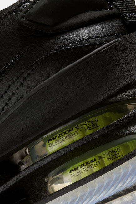 Zoom Double Stacked by Nike in Black/volt-black 8