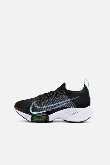 Air Zoom Tempo Next % FK by Nike in Black/glacier Ice/ White/ Bare 2