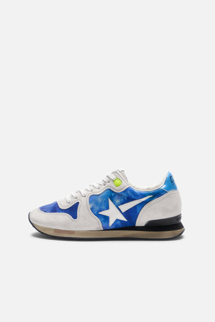 Tie Dye Running Sneaker by Golden Goose in Tie Dye Printed Leather 2