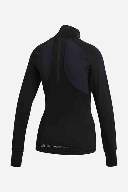 Pure Purpose Midlayer by adidas by Stella McCartney in Black 2