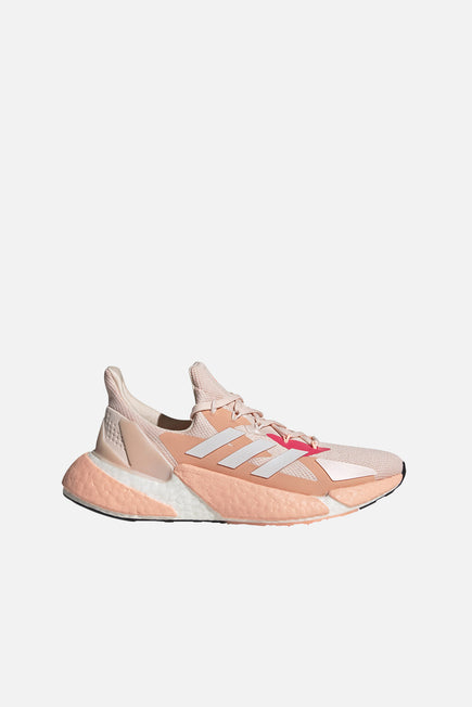 X9000L4 by adidas in Pink Tint/ftw White/signal Pin 1