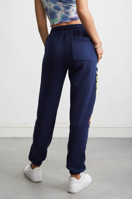 Sunset Sweatpants by Free & Easy in Navy 4