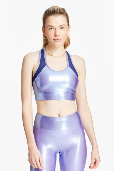 Olympic Bra by Heroine Sport in Perriwinkle 1