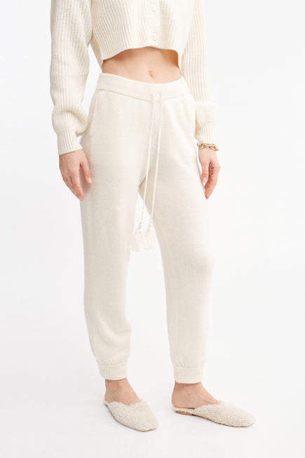 Tristan Pant by Loveshackfancy in Cream 1