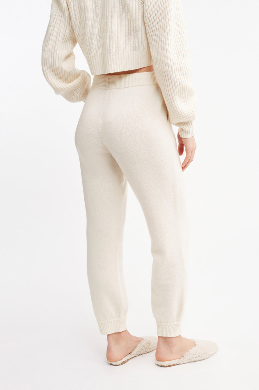 Tristan Pant by Loveshackfancy in Cream 3