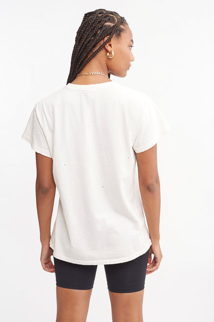 TLC Tee by Madeworn in White 4