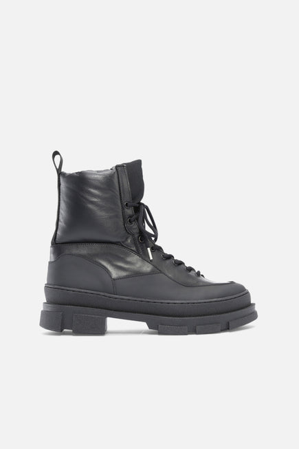 Hiking Mix Boot by GANNI in Black 1