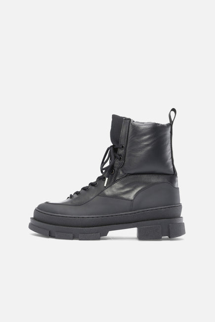 Hiking Mix Boot by GANNI in Black 2