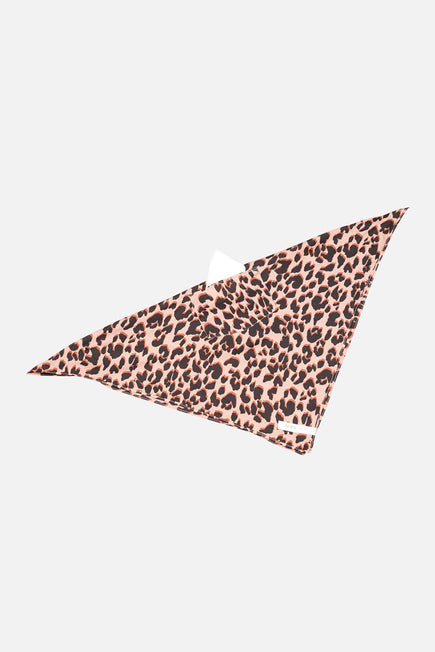 Silk Scarf by D'AIRE in Leopard 4