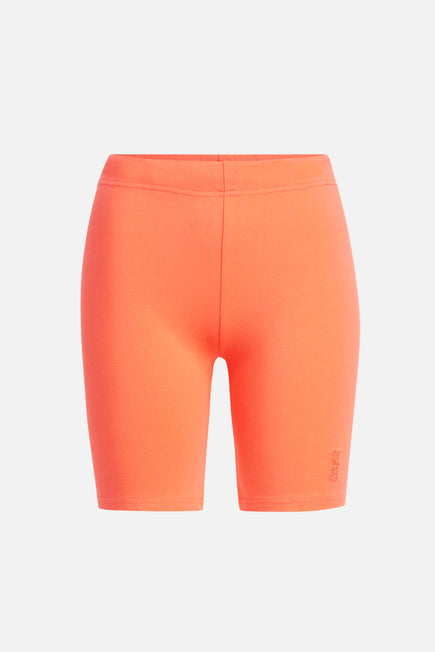 Jersey Apparel Tight Short by Les Girls Les Boys in Hot Coral 5
