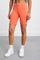 Jersey Apparel Tight Short by Les Girls Les Boys in Hot Coral 4