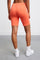Jersey Apparel Tight Short by Les Girls Les Boys in Hot Coral 3