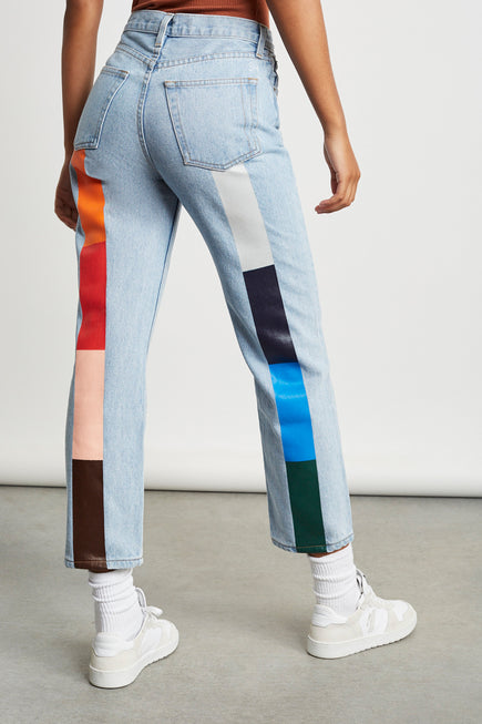 Harvest Rainbow Tate Jean by Still Here in Vintage Blue 5