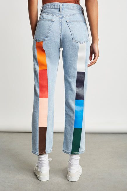 Harvest Rainbow Tate Jean by Still Here in Vintage Blue 1