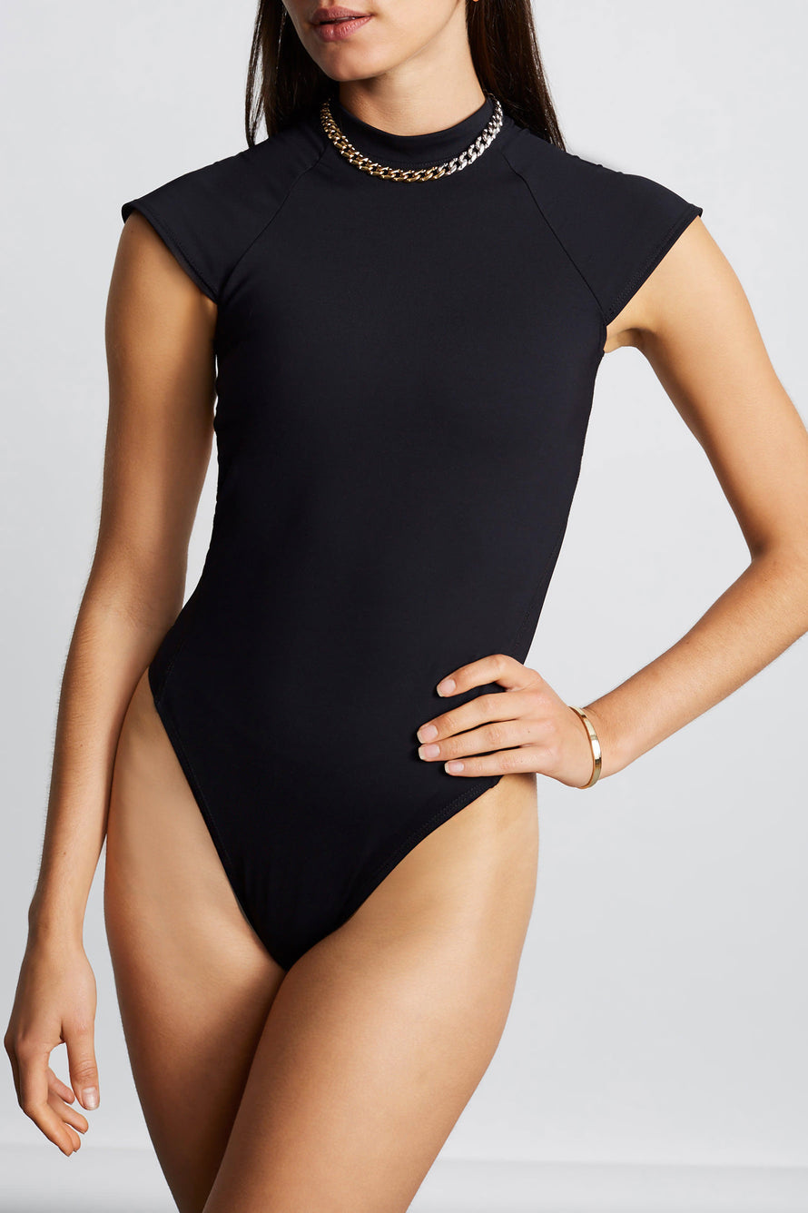 Stage Bodysuit by Tropic of C Movement in Black 5