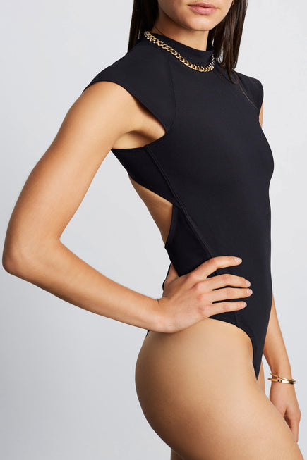 Stage Bodysuit by Tropic of C Movement in Black 4