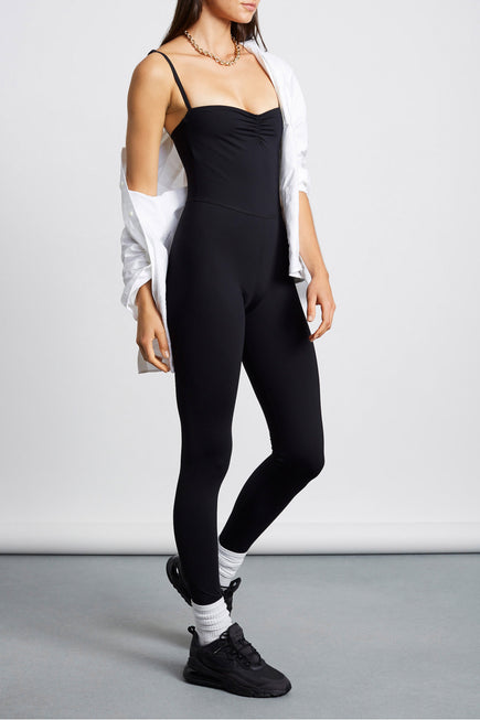 Attitude Jumpsuit by Tropic of C Movement in Black 4