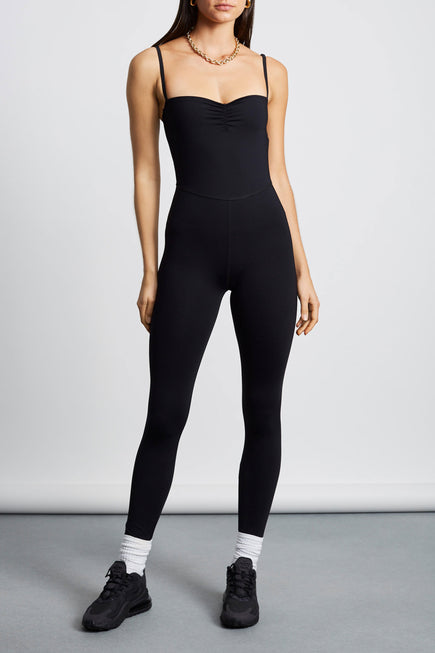 Attitude Jumpsuit by Tropic of C Movement in Black 1