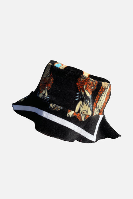Vintage Bucket Hat by Lilyeve in Black Multi 2