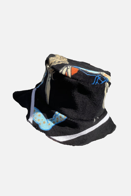 Vintage Bucket Hat by Lilyeve in Black Multi 3