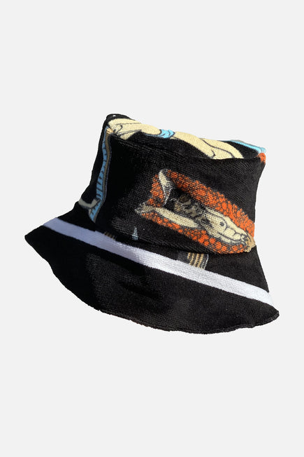 Vintage Bucket Hat by Lilyeve in Black Multi 4