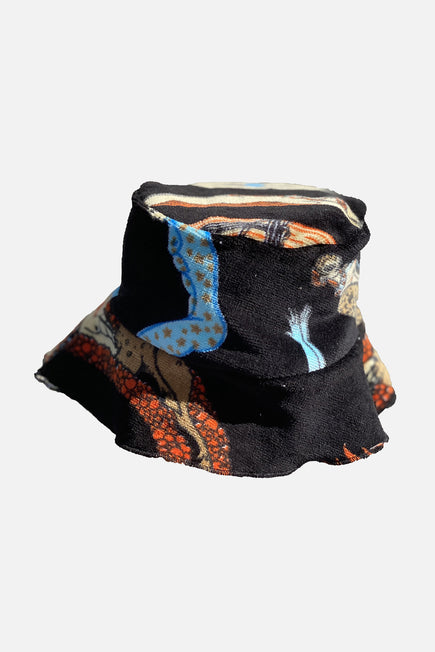 Vintage Bucket Hat by Lilyeve in Black Multi 5