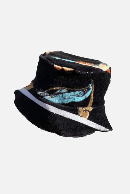 Vintage Bucket Hat by Lilyeve in Black Multi 7