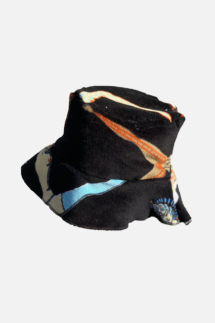 Vintage Bucket Hat by Lilyeve in Black Multi 9