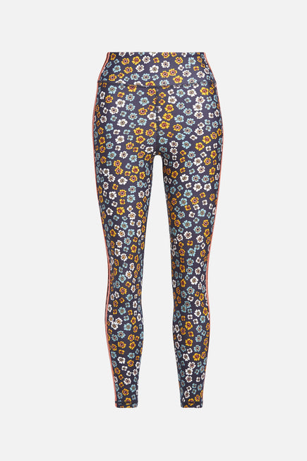 Atacama Dance Midi Pant by The Upside in Floral 5