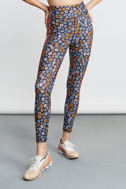 Atacama Dance Midi Pant by The Upside in Floral 1