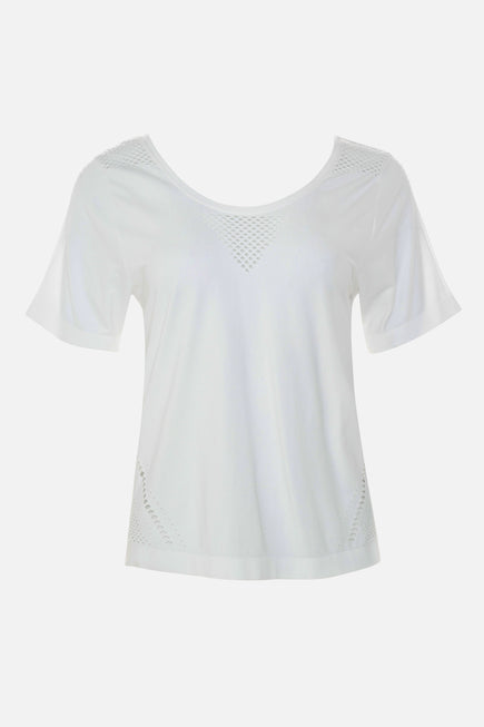 Levinson Tee by Varley in White 7