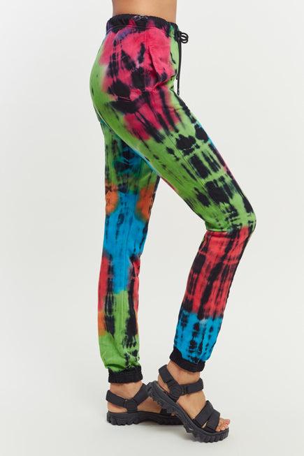 Milan Sweatpants by Cotton Citizen in Kaleidoscope Flash 5