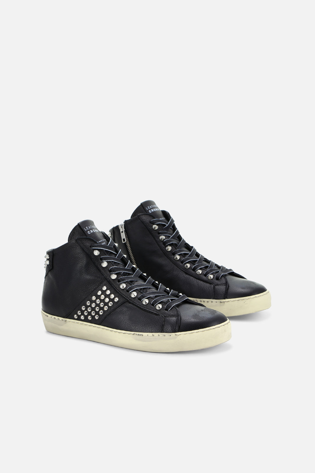 Iconic Stud High Top Sneaker – BANDIER