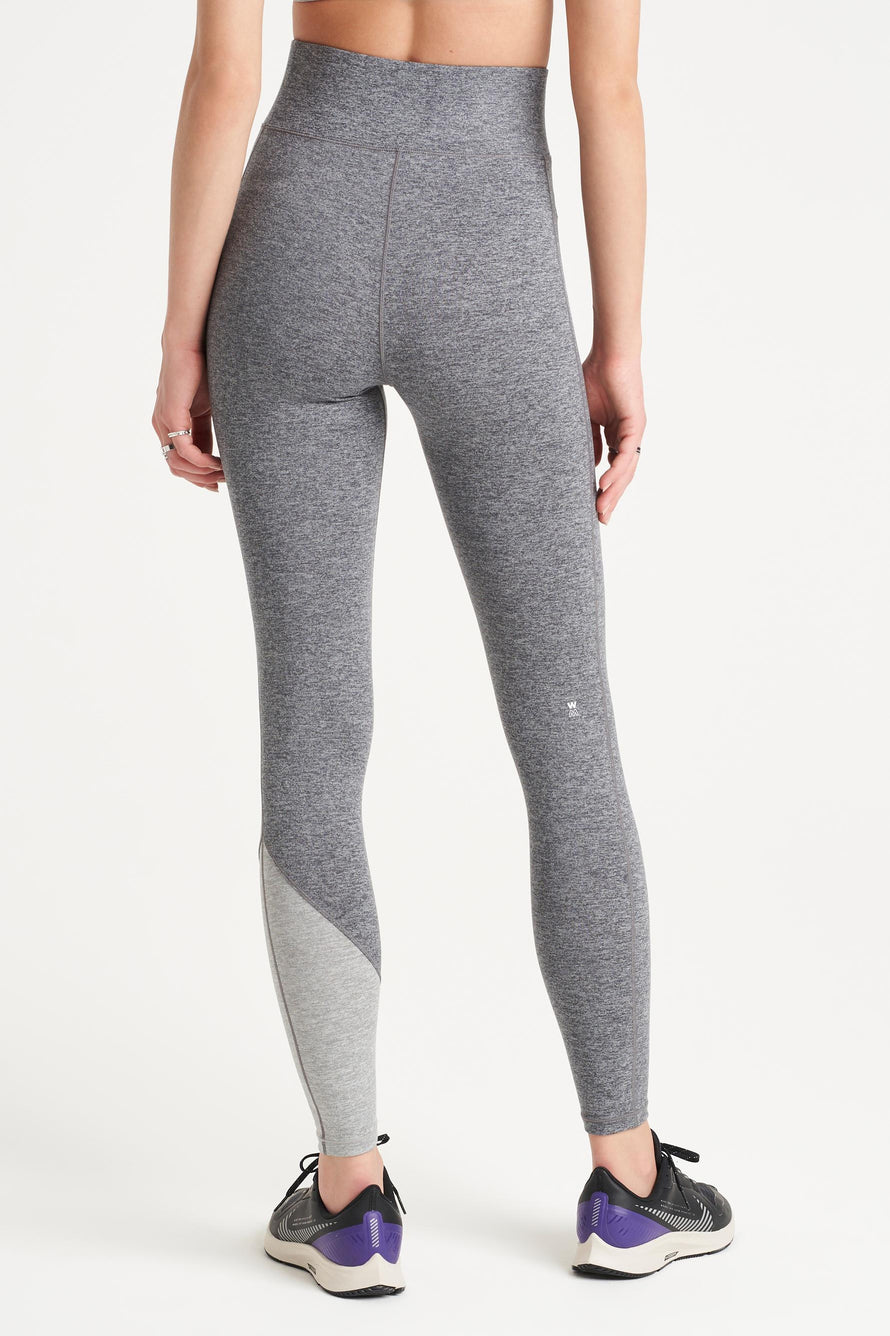 Inversion Legging by We Over Me in Dark Grey With Light Grey 6