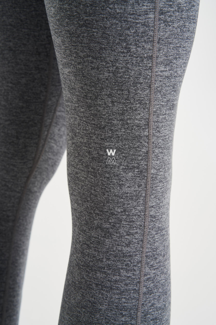 Inversion Legging by We Over Me in Dark Grey With Light Grey 5