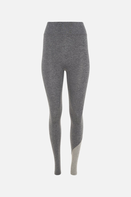 Inversion Legging by We Over Me in Dark Grey With Light Grey 7