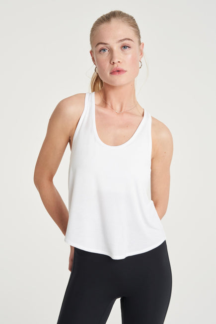 Concert Tank by All Access in White 1