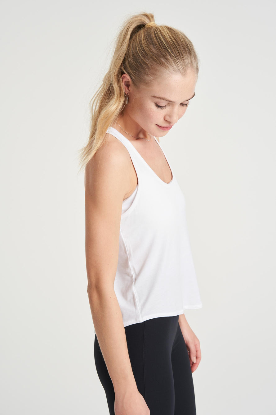 Concert Tank by All Access in White 5