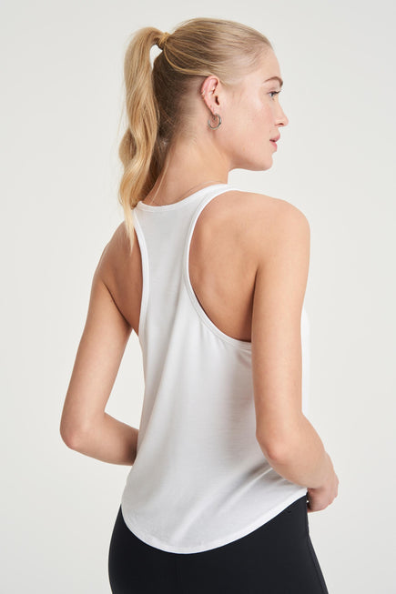 Concert Tank by All Access in White 4