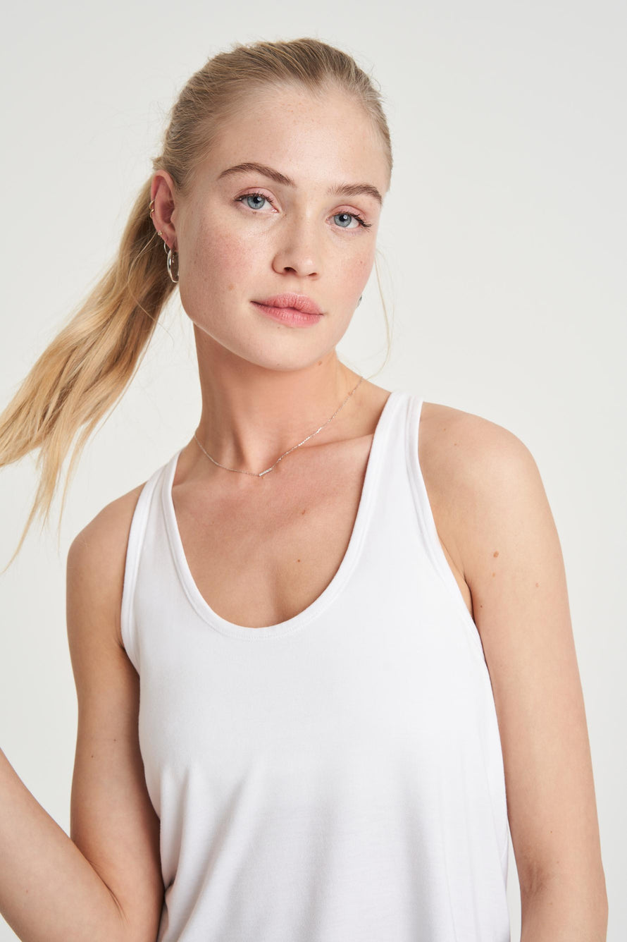 Concert Tank by All Access in White 3